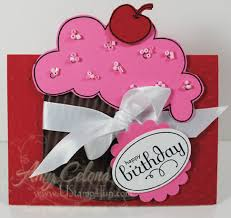 Birthday Card Holder Cupcake Gift Card Holder Simple Birthday Thanks Card Creations