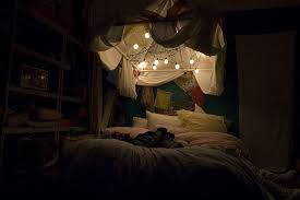 Hipster Lights Canopy Tent With Lights Over Bed With Hipster Bedroom Lights