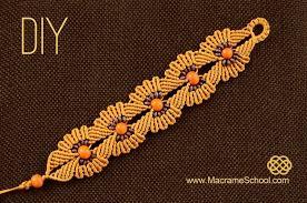bead flower bracelet images Diy macrame flower bracelet with beads jewelry wonderhowto jpg