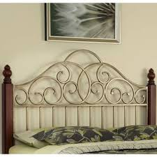 size queen metal headboards for less overstock com