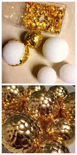 Home Decor Balls Best 25 Styrofoam Ball Crafts Ideas On Pinterest Flowers For
