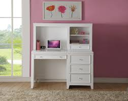 White Computer Desk With Hutch by Lacey 30605 Computer Desk In White By Acme W Options