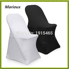 White Chair Covers For Sale Wedding Black U0026 White Spandex Chair Cover Marious Folding Chair