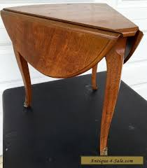 drop leaf end table mid century henredon mahogany drop leaf sides triangle shaped corner