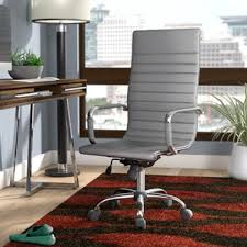 Fabric Covered Desk Chairs Office Chairs You U0027ll Love Wayfair