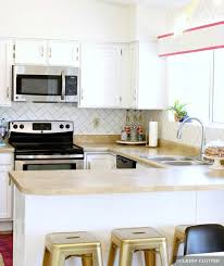 Painted White Kitchen Cabinets Before And After Painting Kitchen Cabinets Before After