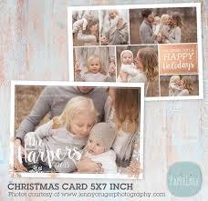 as 25 melhores ideias de christmas photo card template no pinterest