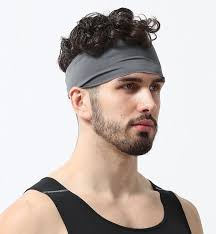 hairband men mens headband stretch guys sweatband best sports running men