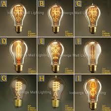 edison light bulb l vintage edison incandescent light bulb a19 e27 25w 40w 60w 110v 220v