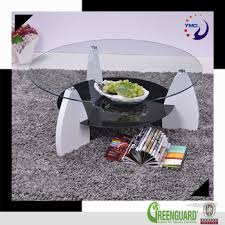 living room furniture centre glass luxury modern living room furniture two layer glass center