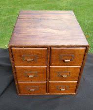 Library File Cabinet Medium Wood Tone Antique File Cabinets Ebay