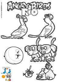 angry birds rio coloring 18