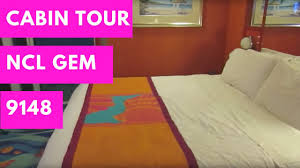 ncl gem handicap accessible balcony cabin tour youtube