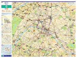 Metro Bus Routes Map by Paris Bus Route Maps With City Street Plan In Pdf Or Image File