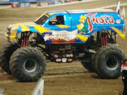 monster truck jam houston 2015 image fiesta jpg monster trucks wiki fandom powered by wikia
