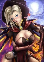 how to make halloween mercy desktop background happy halloween mercy from overwatch by mrhonoo on deviantart