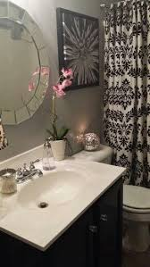 Black And Pink Bathroom Ideas 25 Best Damask Bathroom Ideas On Pinterest Corner Bathroom