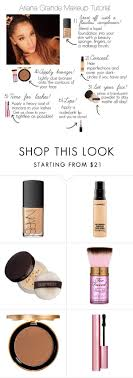 ariana grande makeup tutorial by jacque luna liked on polyvore featuring beauty