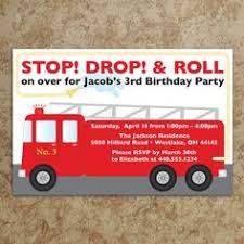handmade birthday card fire truck birthday card first birthday