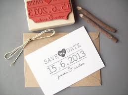 diy save the dates save the date rubber st diy wedding invitation