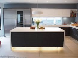 Wood Island Light Black Kitchen Cabinet Countertop Wood Island Light Grey Brick