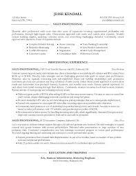 samples of sales resumes resume samples and resume help