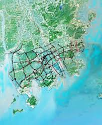 Zhuhai China Map by Zhuhai City Strategic Master Plan Rsp