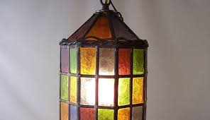 Stained Glass Light Fixtures Dining Room Stained Glass Pendant Light Lighting Ideas Awesome Lights 3