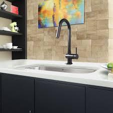 vigo gramercy matte black pull down kitchen faucet by vigo