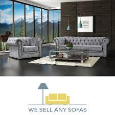 Grey Fabric Chesterfield Sofa by Grey Fabric Chesterfield Corner Sofa Memsaheb Net