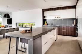 furniture best inspiring kitchen with island designs with modern white open plan kitchen with island