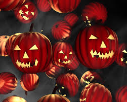 pumpkin halloween wallpaper free screensavers and wallpapers 7screensavers com