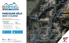 Map A Bike Route by Triathlon Edf Alpe D U0027huez Long Distance