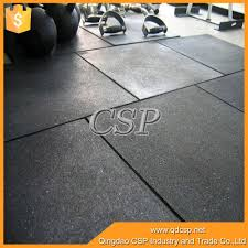 best price black shiny floor tiles non toxic recycled rubber