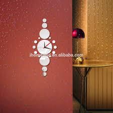 home decor 3d wall clock fancy theme acrylic wall clocks cheap