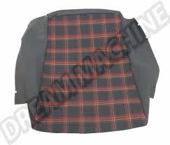 siege golf 1 housses noir petits carreaux pour assise de siege golf 1