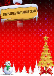 templates for xmas invitations sle holiday invitation frost christmas party invite template