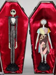 jack and sally le 18 u0027 u0027 dolls in coffin boxes opened u2026 flickr