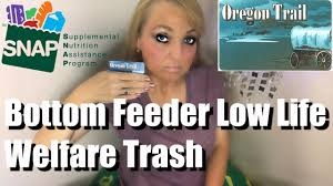 Welfare Meme - how this bottom feeder low life welfare trash spent her food sts