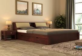 King Size Bed With Frame King Size Beds Buy King Size Bed India Upto 60