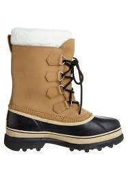 sorel men boots caribou winter boots hellbraun sorel leather