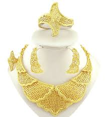 african gold necklace images 24kl gold plating jewelry sets high quality african big fine jpg