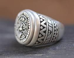 silver ring for men mens silver ring etsy