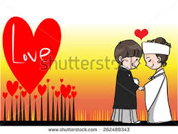 wedding wishes japan japanese wedding greeting card border stock vector 262489343