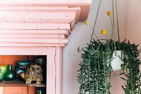 1 ceramic hanging planter styled 4 ways