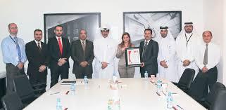 bureau veritas qatar meeza receives quality certification