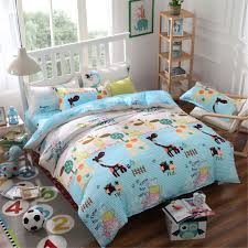 Giraffe Bedding Set Bed Sheets For Toddlers In Piquant Giraffe Comforter