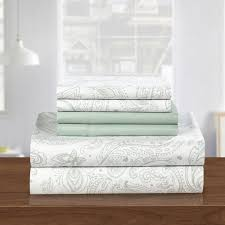 take home the colorful paisley sheets home and textiles