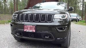 laredo jeep 2016 2016 jeep grand cherokee limited 75th anniversary edition youtube