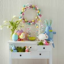 easter decorations easter decorations blue and pink collection spritz target